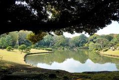 Jardín de Rikugi en Tokio, Japón foto de archivo libre de regalías