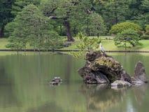 Jardín de Rikugien, Tokio, Japón fotografía de archivo