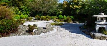 Jardín de roca japonés Foto de archivo libre de regalías