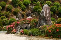 Jardín de roca japonés Fotografía de archivo