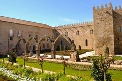 Jardín de Santa Barbarain Braga Imagenes de archivo