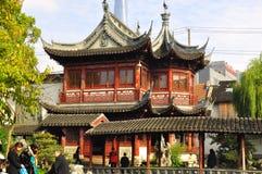 Jardín de Shangai Yuyuan, parque de Yu Yuan China Foto de archivo