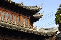 Jardín de Shangai Yuyuan, parque de Yu Yuan China Imagen de archivo