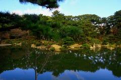 Jardín de Shukkeien, Hiroshima Japón fotos de archivo libres de regalías