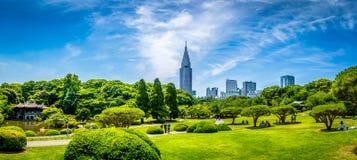 Jardín de Sinjuku Gyoen fotos de archivo libres de regalías