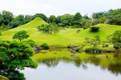Jardín de Suizenji en Kumamoto Fotografía de archivo