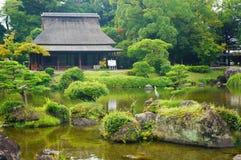 Jardín de Suizenji en Kumamoto imagen de archivo