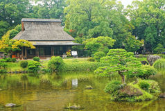 Jardín de Suizenji en Kumamoto Imagenes de archivo