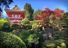 Jardín de té de Japanse Fotos de archivo libres de regalías