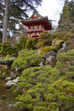 Jardín de té japonés Foto de archivo libre de regalías