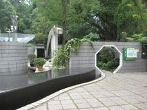 Jardín de Tai Chi, en el parque hermoso de Hong Kong, Hong Kong central imagen de archivo libre de regalías