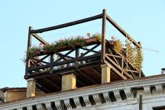 Jardín de tejado Foto de archivo libre de regalías