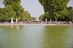 Jardín de Tuileries fotos de archivo