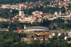 Jardín de Turnov y de Aquapark Maskova Fotos de archivo libres de regalías