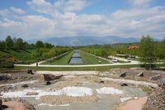 Jardín de Venaria imagen de archivo libre de regalías