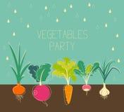 Jardín de verduras libre illustration