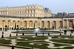 Jardín de Versalles, Francia imagen de archivo libre de regalías