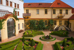 Jardín de Vrtbovska Imagenes de archivo