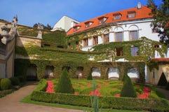Jardín de Vrtbovska Fotografía de archivo libre de regalías
