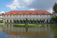 Jardín de Wallenstein Fotos de archivo
