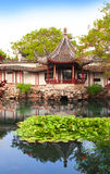 Jardín del administrador humilde en Suzhou, China fotografía de archivo libre de regalías