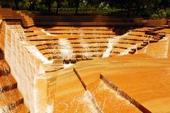 Jardín del agua, pie de valor Fotos de archivo libres de regalías