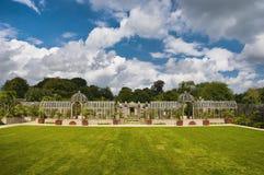 Jardín del castillo de Arundel, Reino Unido. Imagen de archivo libre de regalías