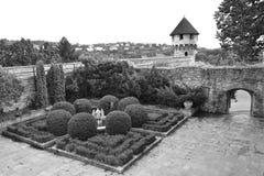 Jardín del castillo de Buda Imagen de archivo libre de regalías