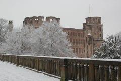 Jardín del castillo de Heidelberg foto de archivo libre de regalías