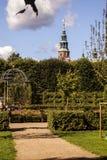 Jardín del castillo de Rosenborg, Copenhague, Dinamarca, Europa Fotografía de archivo libre de regalías