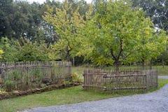 Jardín del cortijo Imágenes de archivo libres de regalías