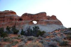 Jardín del diablo en parque nacional de los arcos Imagen de archivo libre de regalías