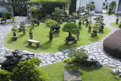 Jardín del estilo chino fotografía de archivo