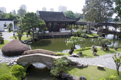 Jardín del estilo chino Fotografía de archivo libre de regalías
