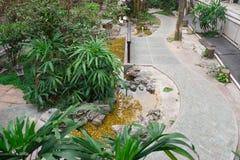 Jardín del estilo chino Foto de archivo libre de regalías