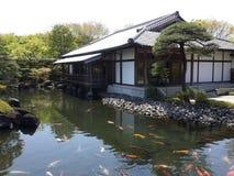 Jardín del estilo japonés Imagen de archivo libre de regalías