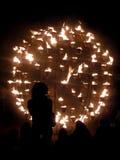 Jardín del fuego en Londres el 13 de septiembre de 2009 Imagen de archivo libre de regalías