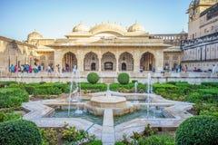 Jardín del fuerte ambarino Imagenes de archivo