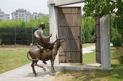 Jardín del furong del datang de Xi'an en China Imágenes de archivo libres de regalías