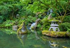 Jardín del japonés de Portland Fotografía de archivo