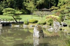 Jardín del japonés de Seattle Fotos de archivo libres de regalías
