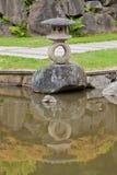 Jardín del japonés del arboreto del parque de Washington Imagenes de archivo