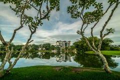 Jardín del lago Taiping Imágenes de archivo libres de regalías
