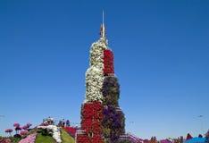 Jardín del milagro, Dubai Fotografía de archivo libre de regalías