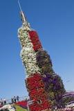 Jardín del milagro, Dubai Fotos de archivo libres de regalías
