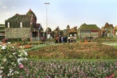 Jardín del milagro - Dubai Fotografía de archivo libre de regalías