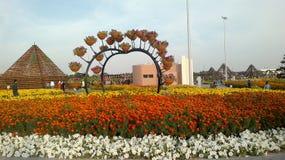 Jardín del milagro, Dubai, United Arab Emirates imagen de archivo libre de regalías