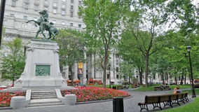 Jardín del monumento Fotografía de archivo libre de regalías