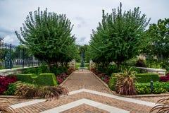 Jardín del monumento de Kauffman Fotografía de archivo libre de regalías