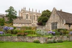 Jardín del monumento de la guerra. Oxford, Inglaterra imagen de archivo libre de regalías